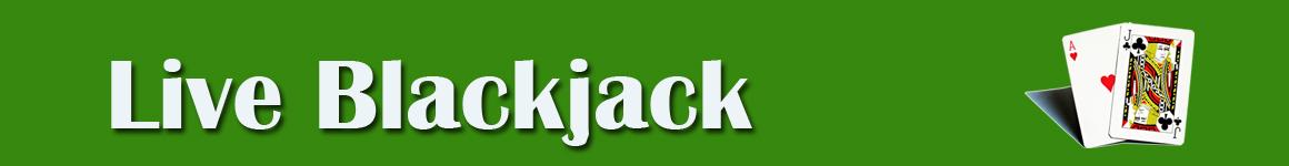 Live Blackjack header image